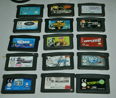 15 x GBA Spiele   GameBoy Advance [ Adavnce SP / DS / DS lite] 15 Module