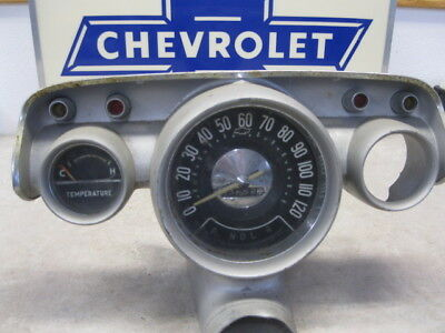 Very Nice Used Operating Nice 57 Chevrolet Temperature Gage