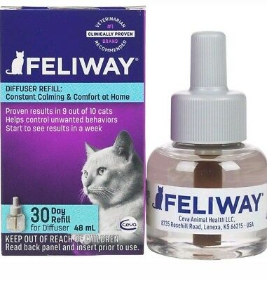 Ceva Feliway Plug-in Diffuser Refill for Cats 48ml exp.09/20