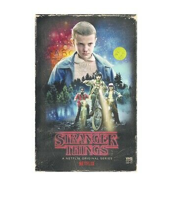 NEW Stranger Things Season 1 Exclusive 4 Disc BLU-RAY DVD Collectors VHS Box