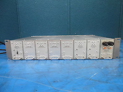 Grass Valley Systems 900 Series Tray Video Distribution Studio W/Modules