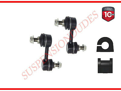 4PC FRONT SWAY BAR LINKS WITH FRONT BUSHINGS FOR 2011-2015 CHEVROLET CRUZE