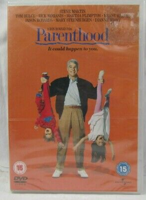 Parenthood Steve Martin Comedy 1989 DVD Film New Sealed Free 1st Class Post