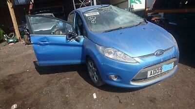Ford Fiesta Zetec 2009-2012 1.4 Petrol Blue Wheel Nut Breaking