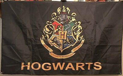 Harry Potter Hogwarts Bundle, Two 3 X 5 Banner/Flags, Free Shipping From Usa