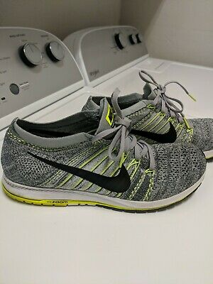 05a5732ebe655 Nike Flyknit Streak Men s Running Shoes Wolf Grey Black-Anthracite 835994- 007