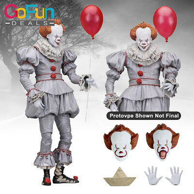"IT 7.9 /""Action Figure-Ultimate/"" I HERZ DERRY /""Pennywise New Pre-Ordine:"