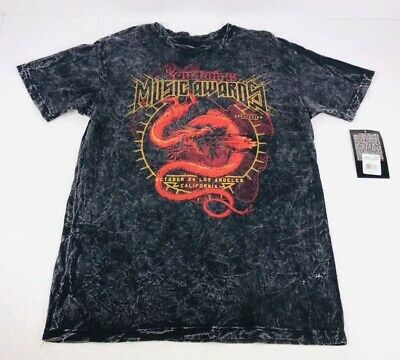 Affliction Live Fast Loudwire Awards 2 Sided Acid Wash T Shirt Large