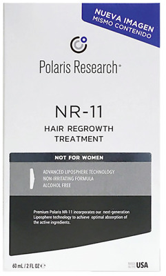 Polaris Research NR11 Hair Regrowth Treatment for Men 60ML