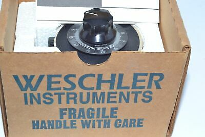 NEW Weschler Instruments 9T92A0001 VARIABLE TRANSFORMER 120V 50/60HZ V-PAC