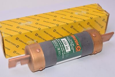 NEW Brush Fuses, Type: ECSR 400, Time-Delay Dual Element Current Limiting Fuse,