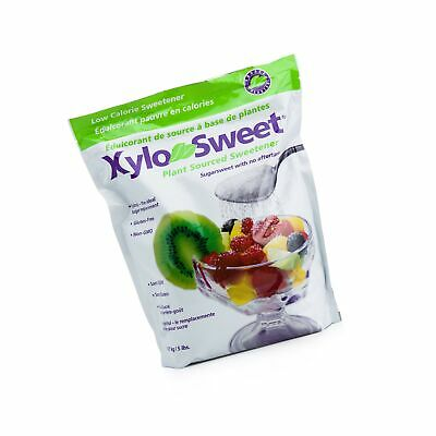 Xlear XyloSweet Non-GMO Xylitol Sweetener, 5lb Bag 5 Pound (Pack of 1)