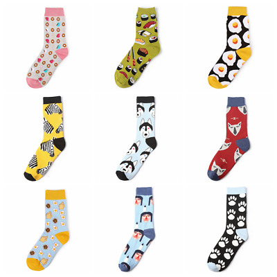 Women's Taco Socks COTTON Happy Novelty Sox Size 7-13 Unisex Fashion Funky Gift