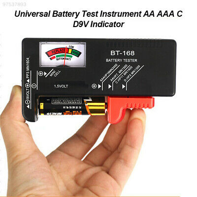 6859 Tool Accessory Gadget Universal Battery Tester Meter Tester New Checker