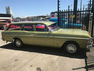 1971 Ford Falcon XY 500 Green Automatic 3sp A Sedan