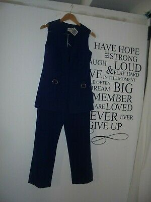 Vintage 60's pants and vest suit by Universal Fashions - Size 6
