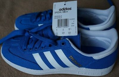 0ae3703f18bc06 Adidas Originals Spezial Weave 36.5 UK 4 Blau Weiß Samba Superstar Stan  Smith