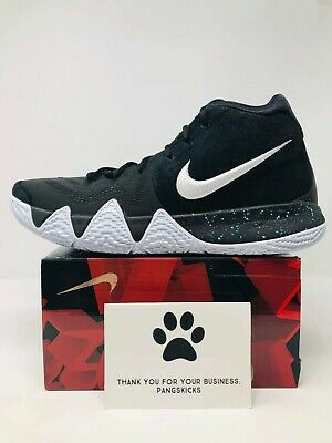 new style bf0e4 91894 NIKE KYRIE 4 'Ankle Taker' Black White 943806-002 Size 12.5