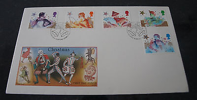 First Day Cover of Christmas Pantomime Characters 19th Nov 1985 SHS Postmark