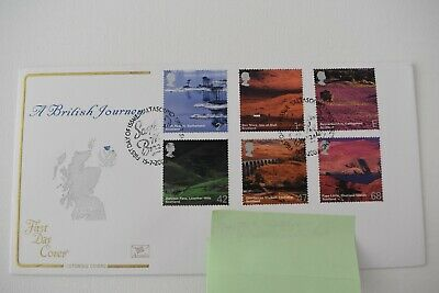 Cotswold First Day Cover A British Journey Scotland 15th July 2003 SHS Postmark