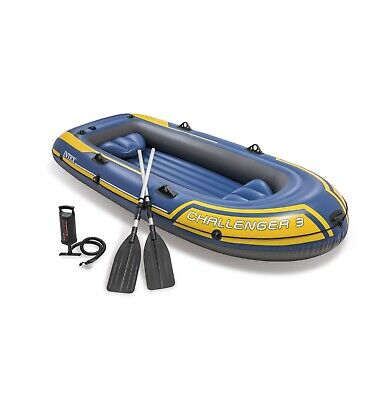 Intex Schlauchboot Challenger 3 Set 295x137x43cm