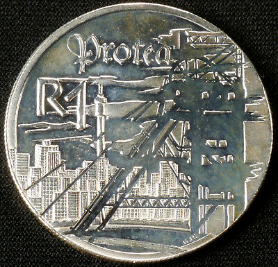 South Africa Silver 1 Rand 1999 (F1501)