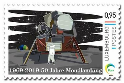 Luxemburg 2019 50yrs Moonlanding  SPACE       mnh G