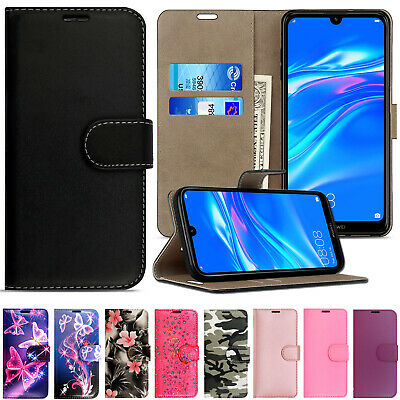 Case for Huawei Y6 2019 Premium Slim Leather Flip Case Wallet Folio Book Cover