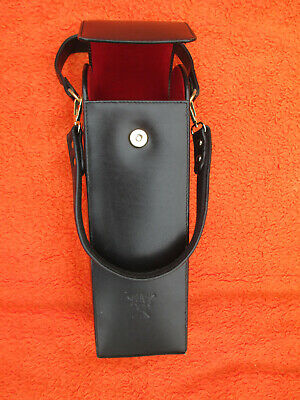 Leather Wine/Alcohol Cooler Carrier Bag