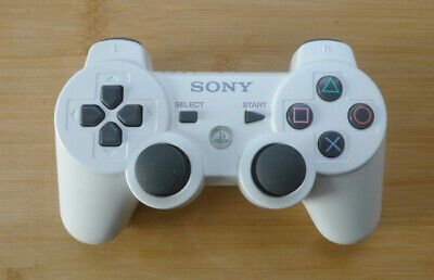Official Sony Dualshock 3 Bluetooth Wireless controller White