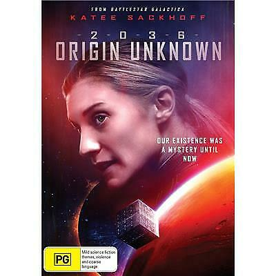 2036 Origin Unknown Dvd, New & Sealed, 2019 Release, Free Post