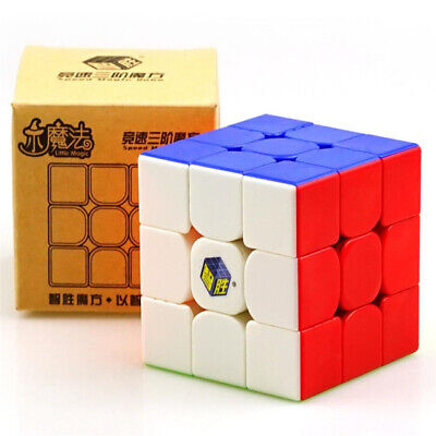 Yuxin Little Magic 3X3X3 Speed Cube Stickerless Ultra-Smooth Puzzle Twist Toys