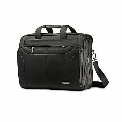 Samsonite Classic Business Ballistic Expandable Toploader Laptop Briefcase