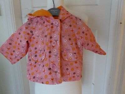 Baby girls raincoat from Mothercare - Age 3 - 6 months