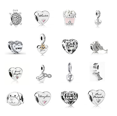 Brand New Authentic Genuine PANDORA Charms ALE S925 Sterling Silver !!