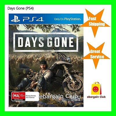 Days Gone PS4 Playstation 4 Brand NEW eBC