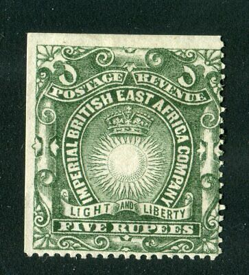 British East Africa/KUT 1890. 5r grey green. MH. SG 19.