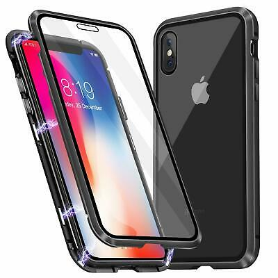 Magnetic case front and back Screen cover for iPhone 6 6s 7 8 + X XS XR 11 PRO