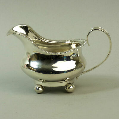 Antique George Iv Silver Sauce Boat By Barber Cattle & North York 1825 - 139 G