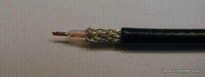 1/2/5/10m x RG174 50R Coaxial Cable. UK Seller - Fast Dispatch.