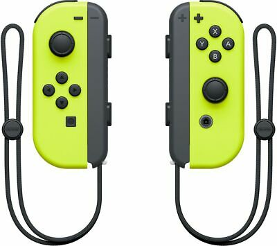 NINTENDO Switch Joy-Con Wireless Controllers - Yellow - Currys