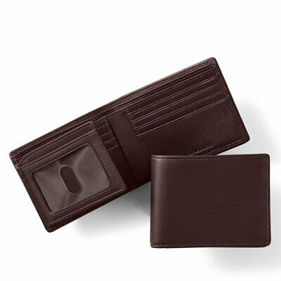 Sheep Skin Leather Wallet with id Flap Back Zip Swing Section and Button Closer