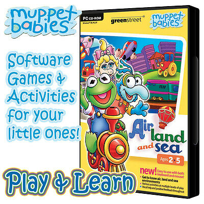 Muppet Babies™ Animals in Nature (PC CD-ROM) Childrens Educational PC game