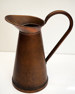 antique huge Copper French, late 19th century. Handmade water jug stick brolly