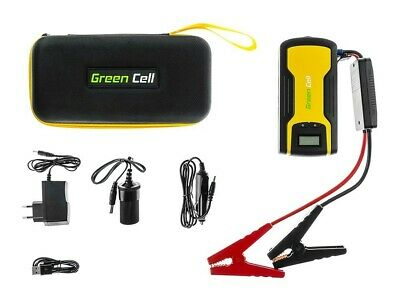 Power Bank Green Cell CAR JUMP STARTER Voiture Batterie Chargeur 11100mAh