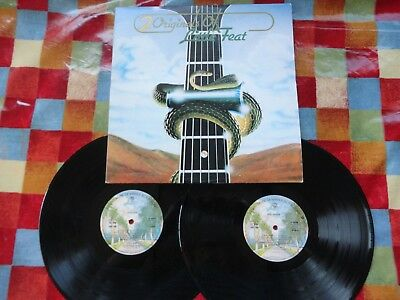 Little Feat Dixie Chicken/Little Feat 2xLP 1975 **EX/NEAR MINT x2**GATEFOLD**