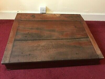 Large Antique Writing Slope