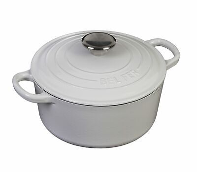 Inspired Home  Enameled Cast Iron 3 Quart Dutch Oven