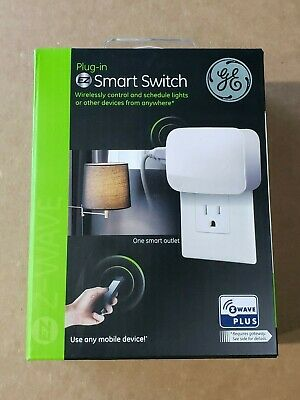 GE Z-WAVE GE Z-Wave Plus Wireless Plug-In On/Off Smart Module 28169 ZW4103
