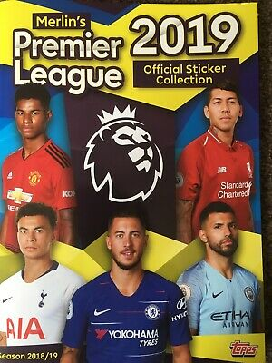 Topps Merlin's Premier League 2019. 20 Stickers for this Price (See Description)